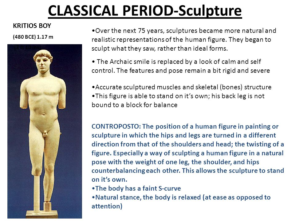 CLASSICAL PERIOD-Sculpture