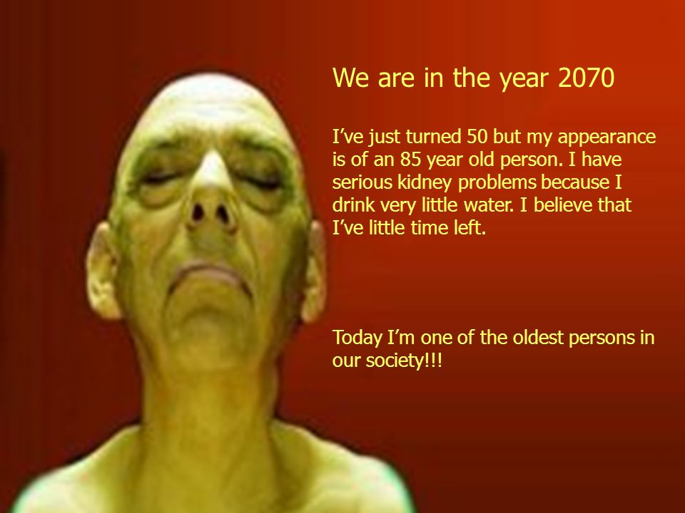 We are in the year 2070
