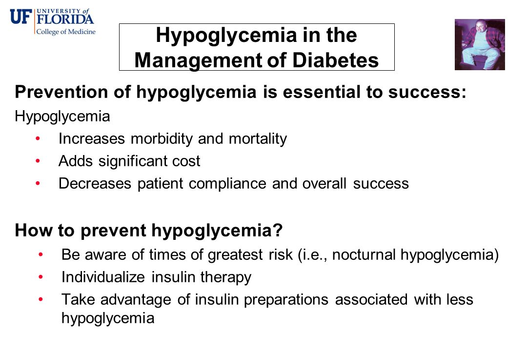 Hypoglycemia in the Management of Diabetes