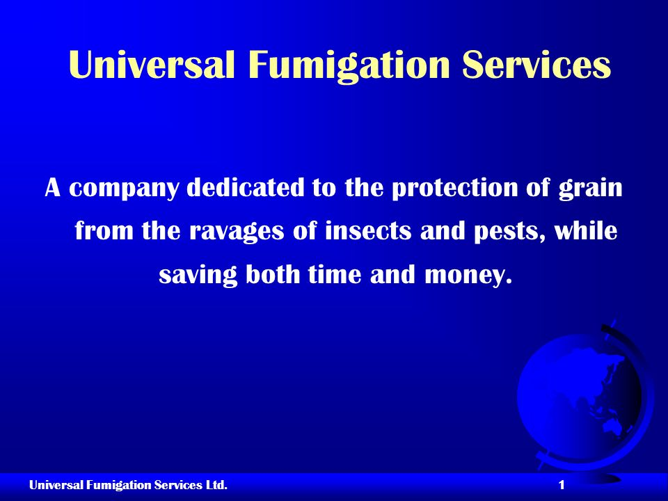 Universal Fumigation Services