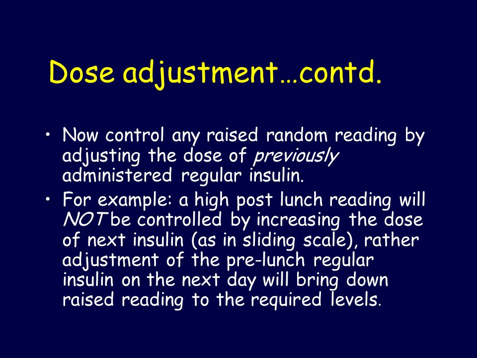 Dose adjustment…contd.