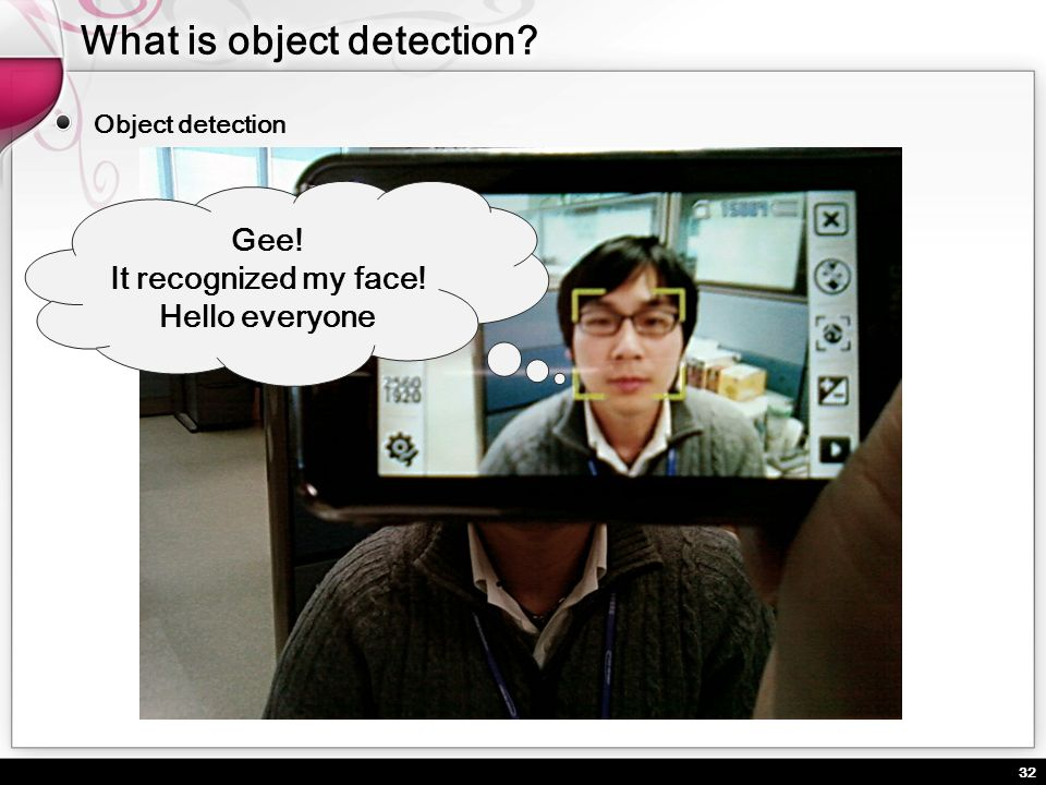 What is object detection