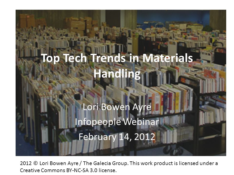 Top Tech Trends in Materials Handling