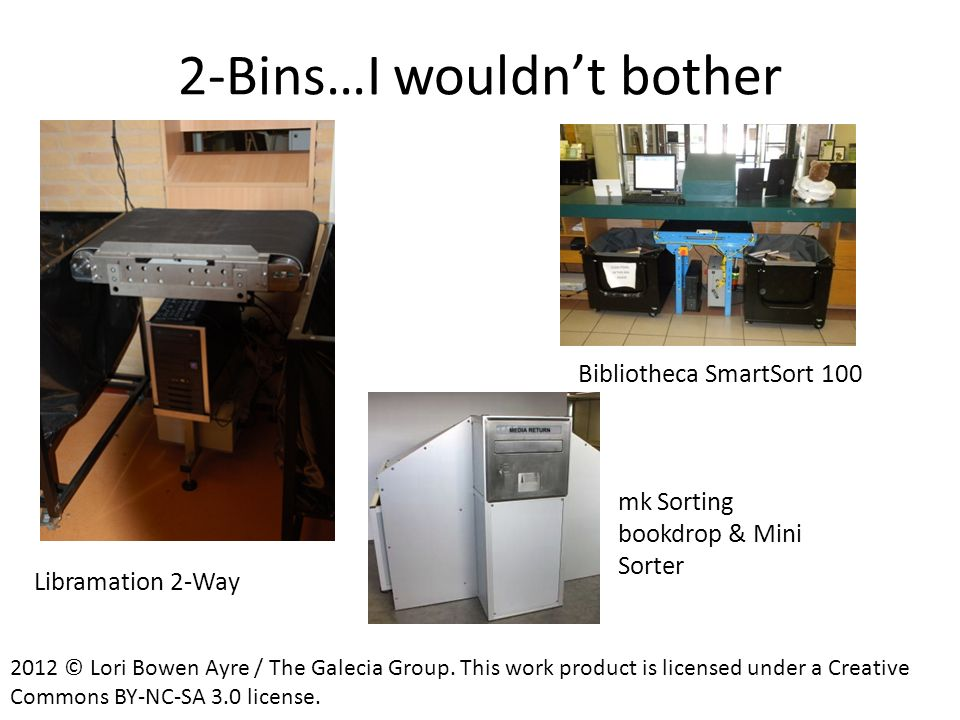 2-Bins…I wouldn't bother