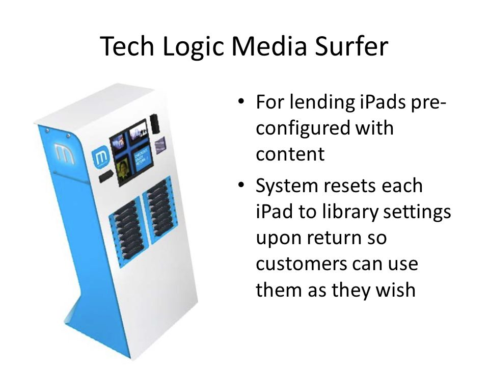 Tech Logic Media Surfer