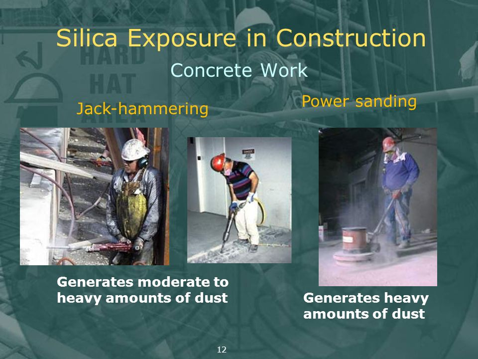 Silica Exposure in Construction