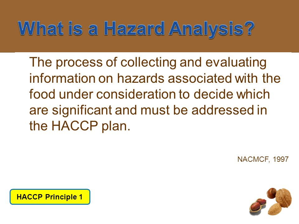 What is a Hazard Analysis