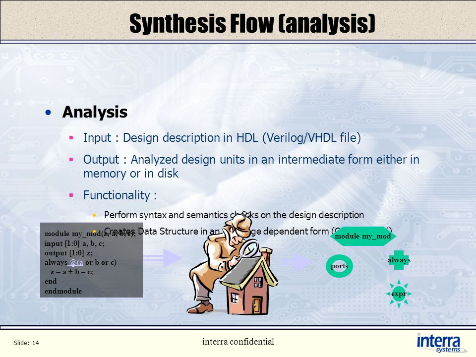 Synthesis Flow (analysis)