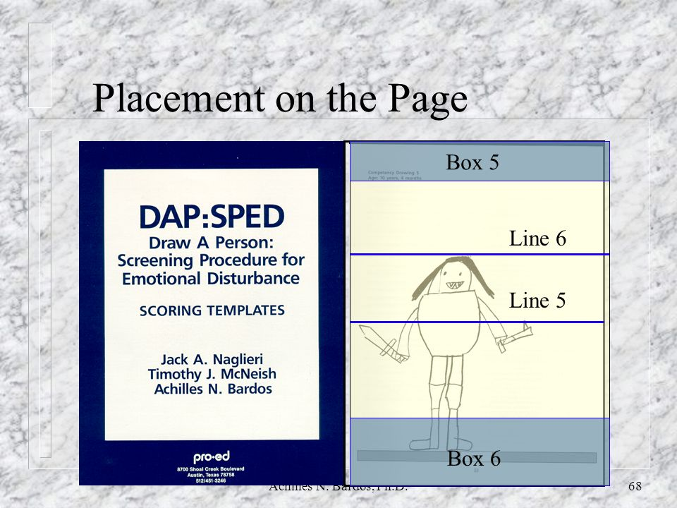 Placement on the Page Box 5 Line 6 Line 5 Box 6
