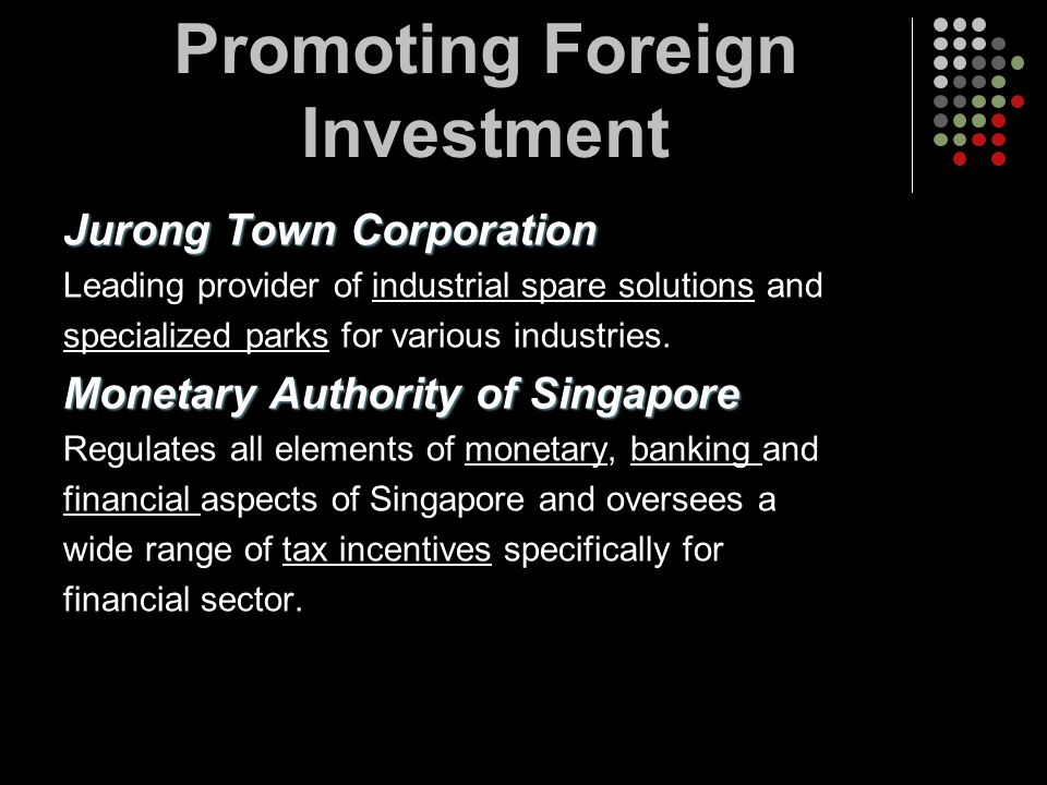 Promoting Foreign Investment