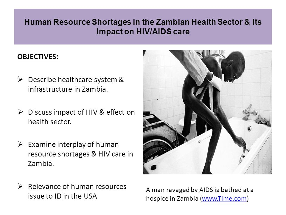 Describe healthcare system & infrastructure in Zambia.