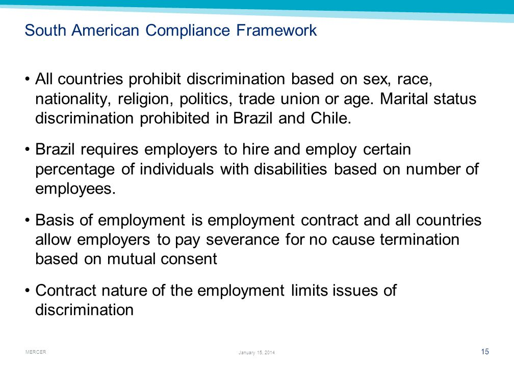 South American Compliance Framework