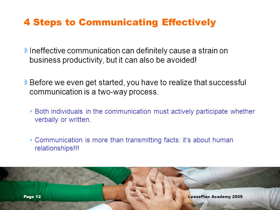 4 Steps to Communicating Effectively