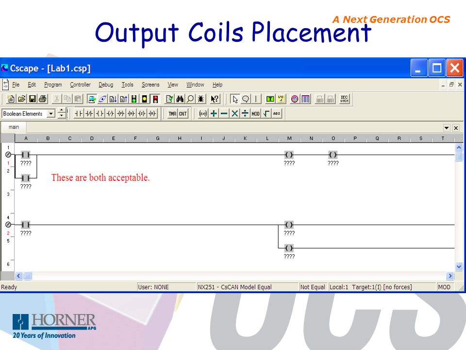 Output Coils Placement