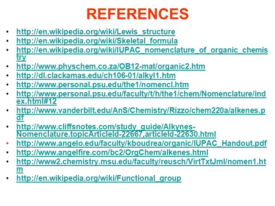 REFERENCES http://en.wikipedia.org/wiki/Lewis_structure