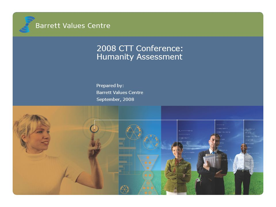 2008 CTT Conference: Humanity Assessment Prepared by: