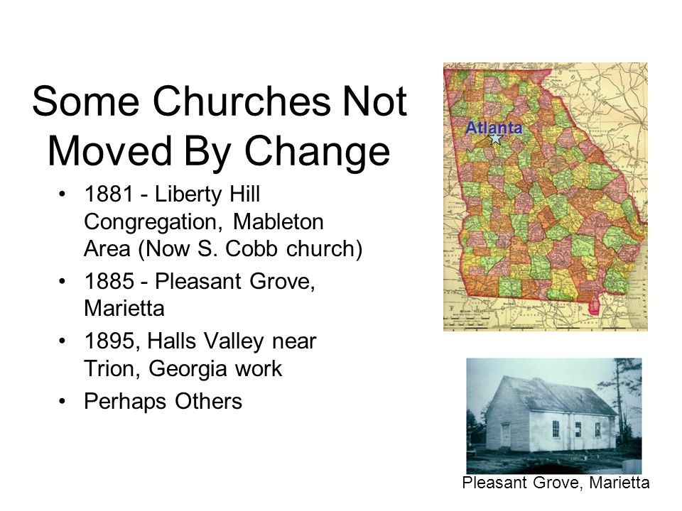 Some Churches Not Moved By Change