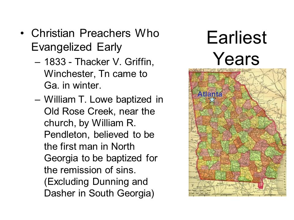 Earliest Years Christian Preachers Who Evangelized Early