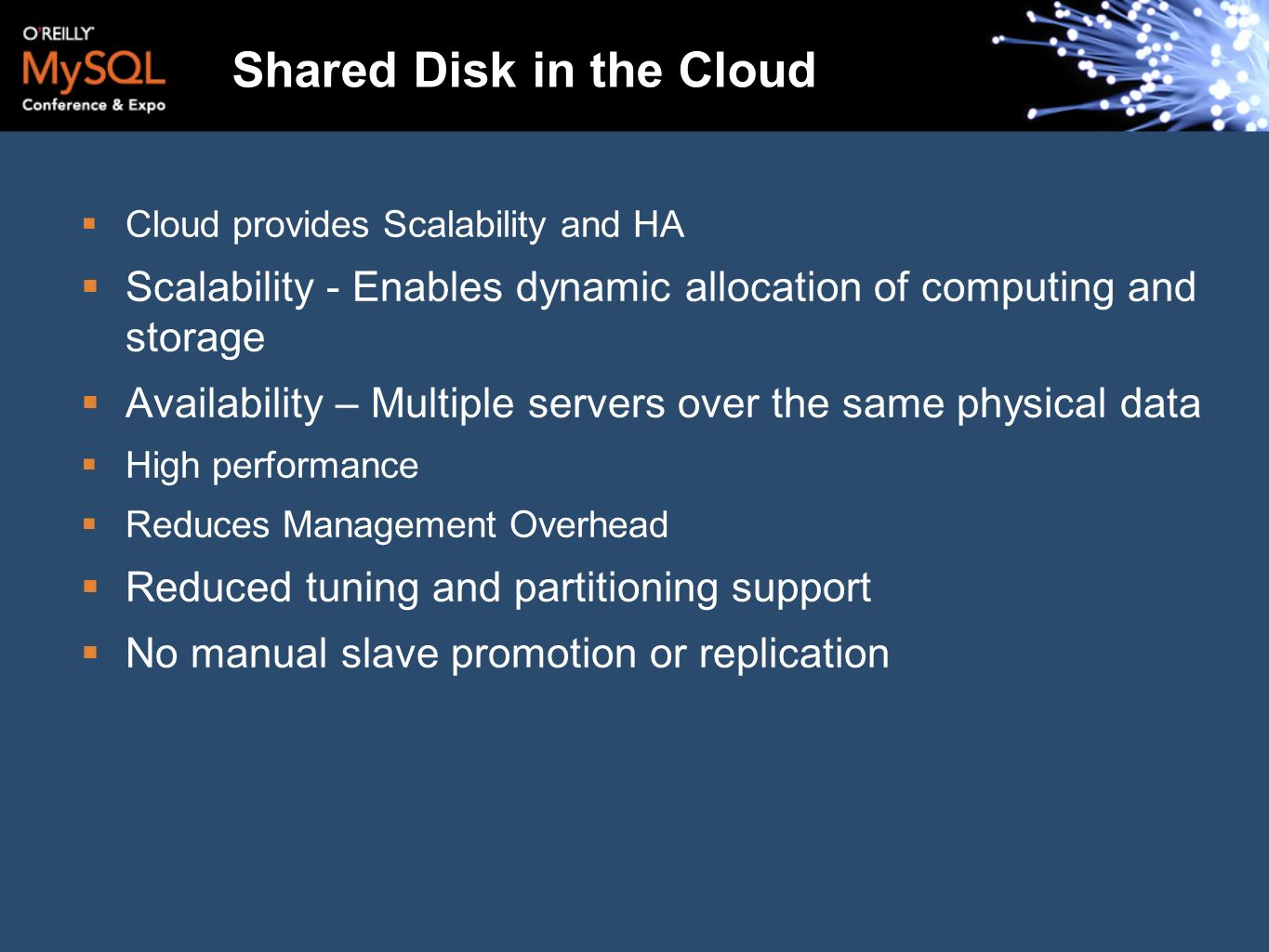 Shared Disk in the Cloud