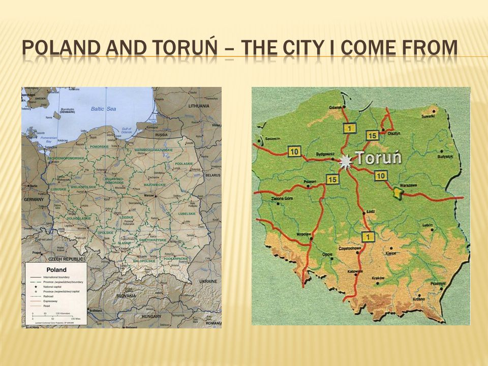 Poland and Toruń – the city I come from