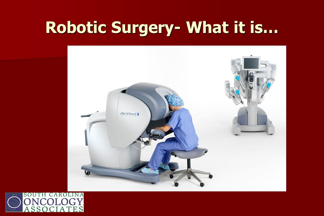 Robotic Surgery- What it is…