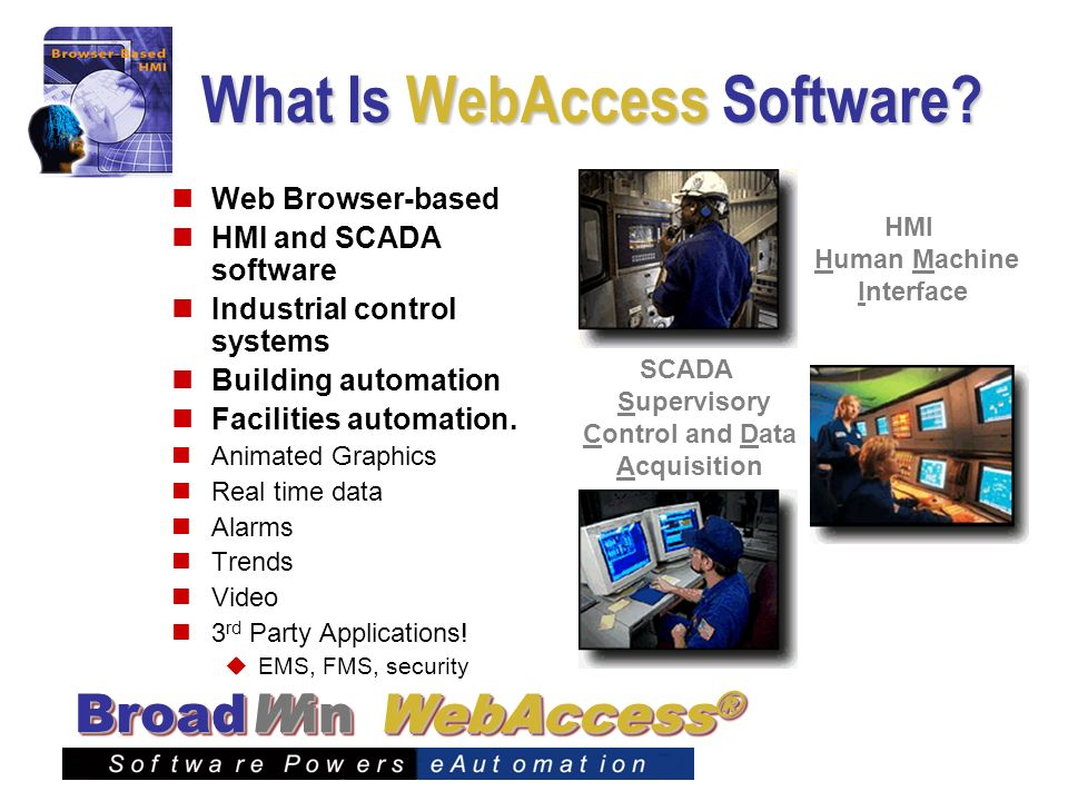 What Is WebAccess Software