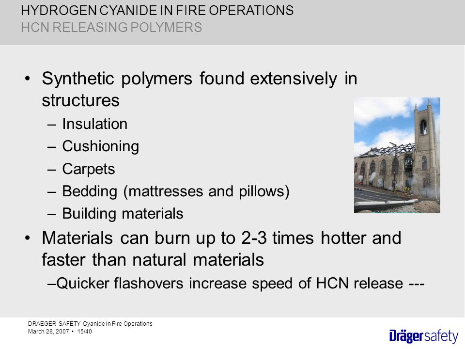 Synthetic polymers found extensively in structures