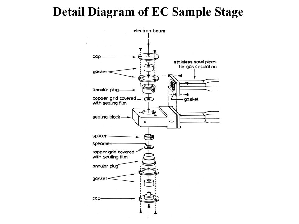 Detail Diagram of EC Sample Stage