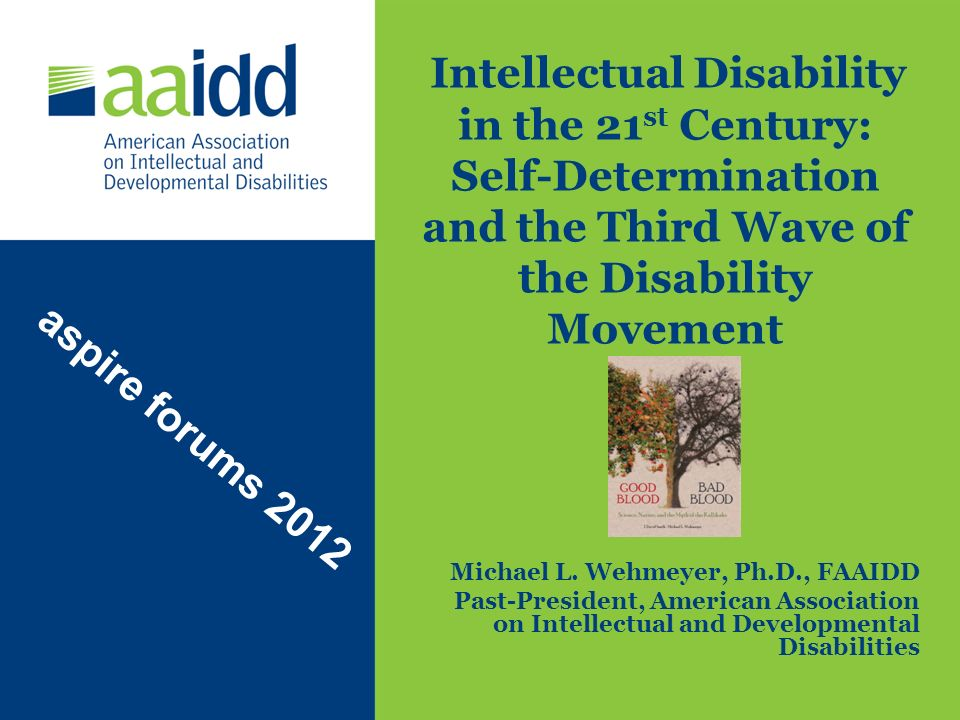 Intellectual Disability in the 21st Century: Self-Determination and the Third Wave of the Disability Movement