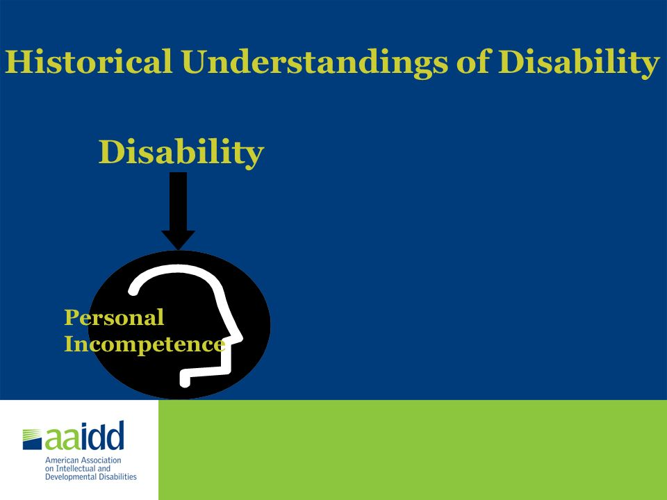Historical Understandings of Disability