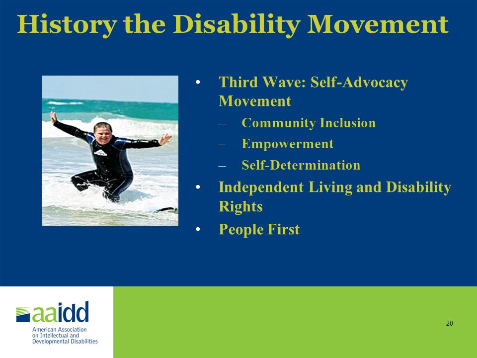 Intellectual Disability in the 21st Century: Self