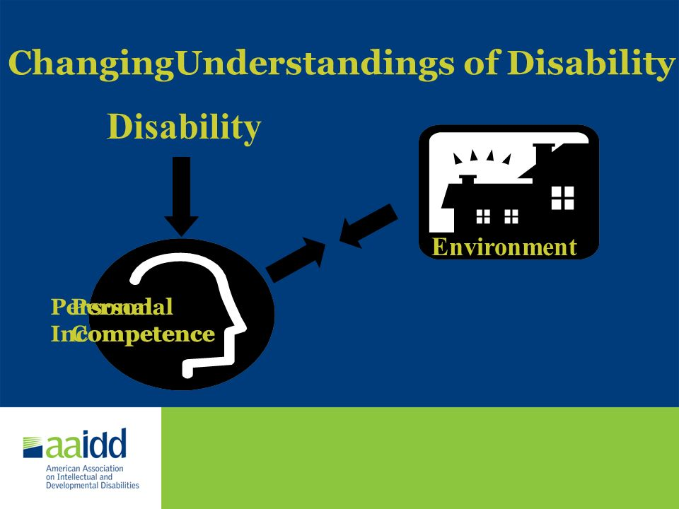 ChangingUnderstandings of Disability
