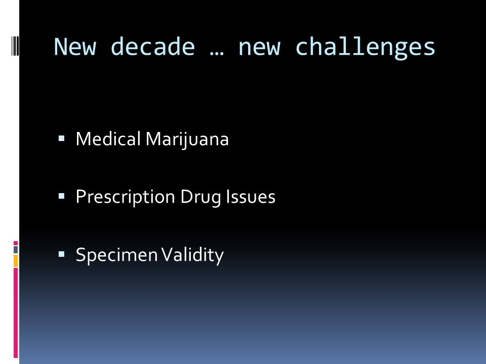 New decade … new challenges