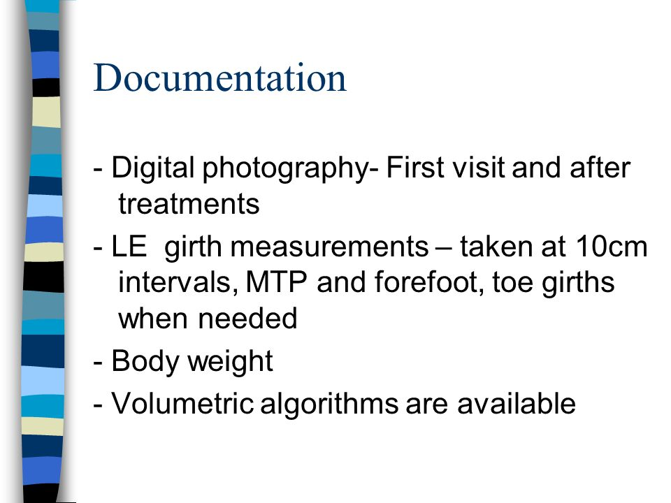 Documentation - Digital photography- First visit and after treatments