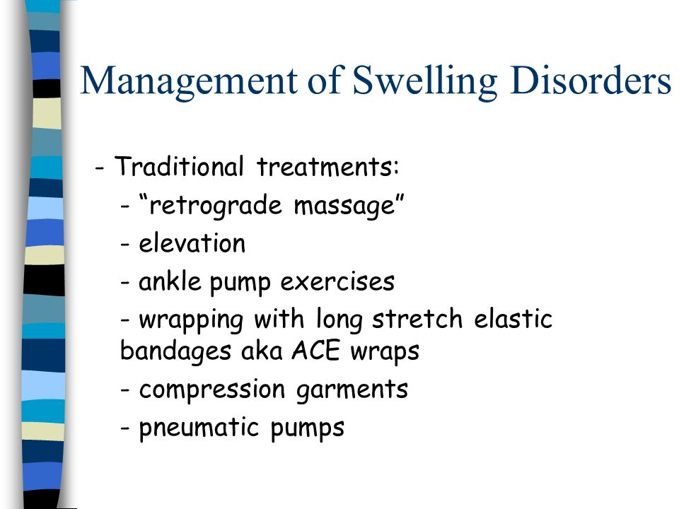 Management of Swelling Disorders