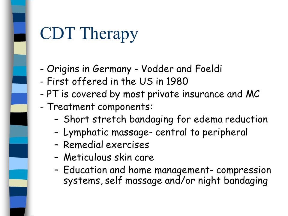 CDT Therapy - Origins in Germany - Vodder and Foeldi