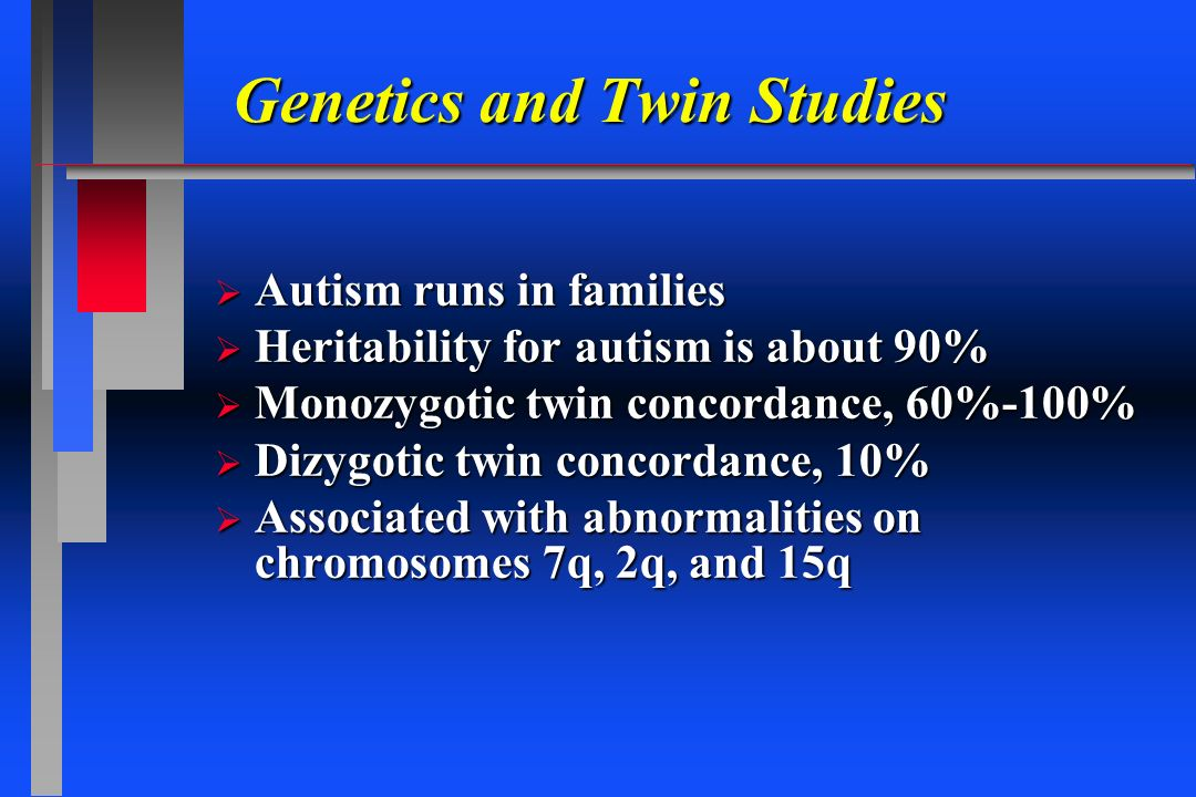 Genetics and Twin Studies