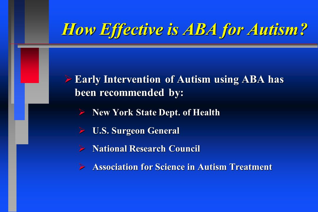 How Effective is ABA for Autism