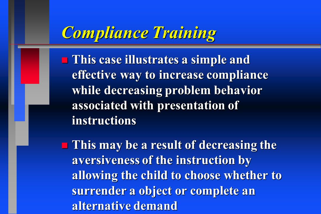 Compliance Training