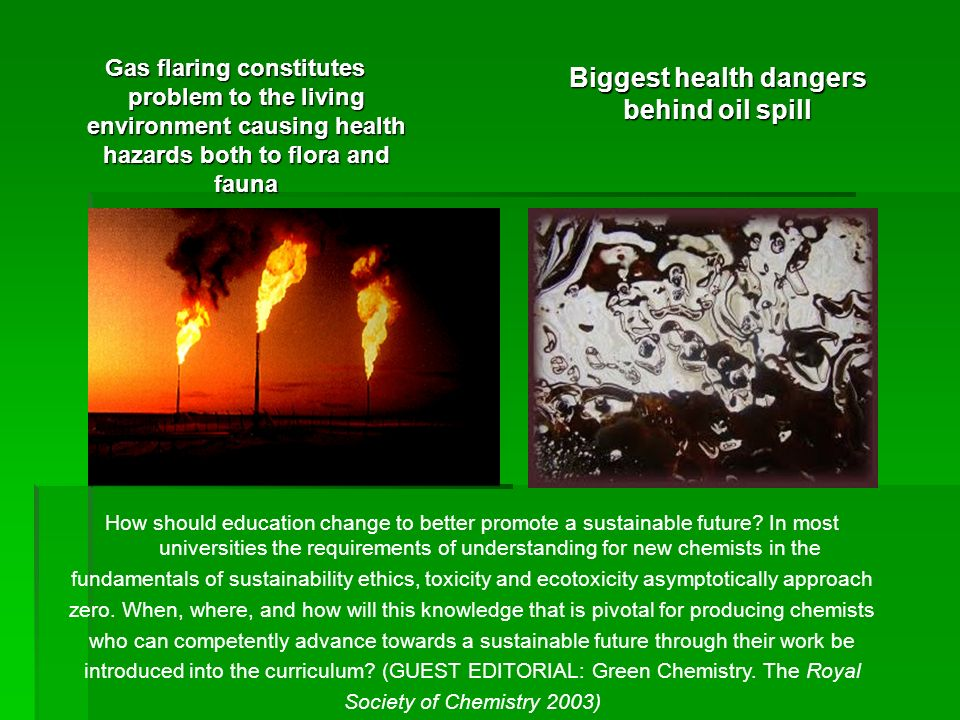 Biggest health dangers behind oil spill