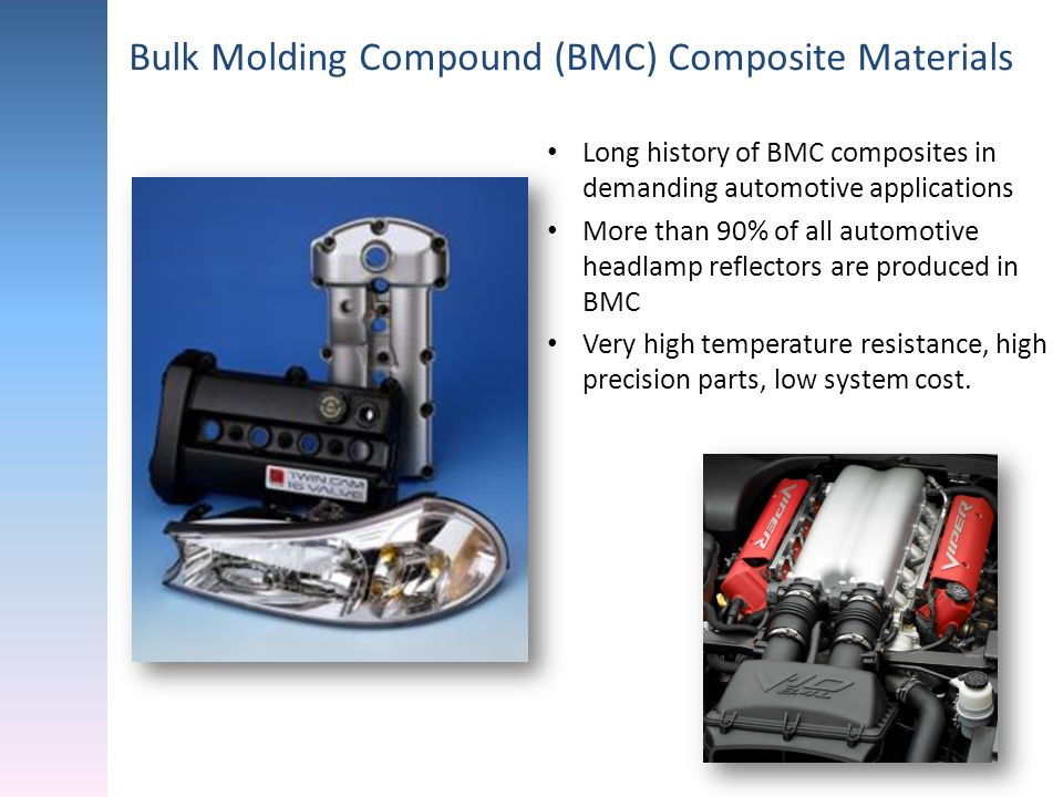Bulk Molding Compound (BMC) Composite Materials