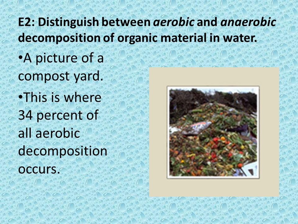 A picture of a compost yard.