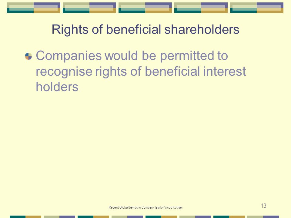 Rights of beneficial shareholders
