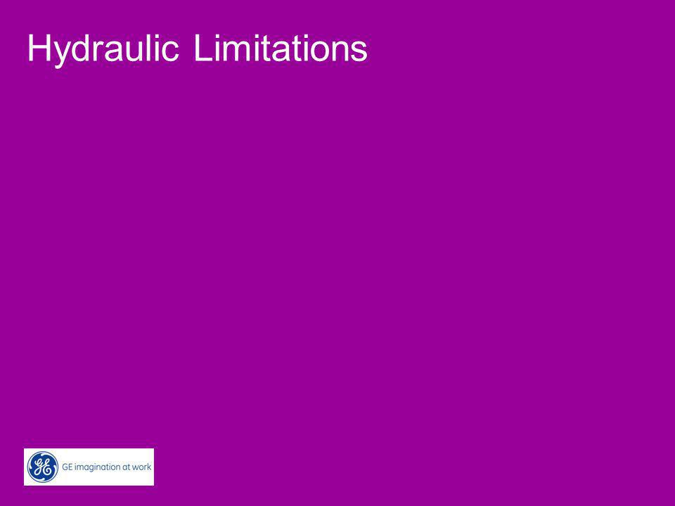 Hydraulic Limitations