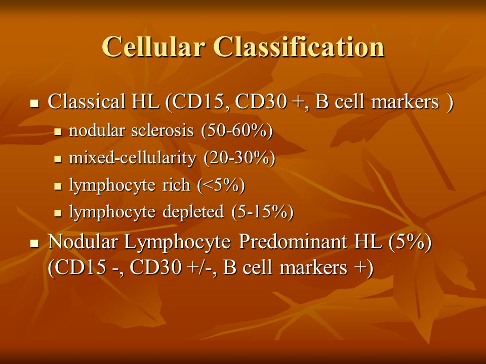 Cellular Classification