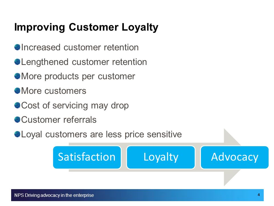 Improving Customer Loyalty