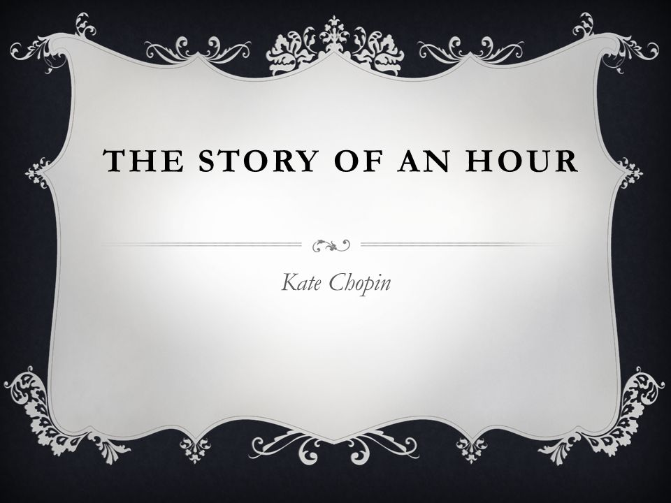 story of an hour kate chopin full text
