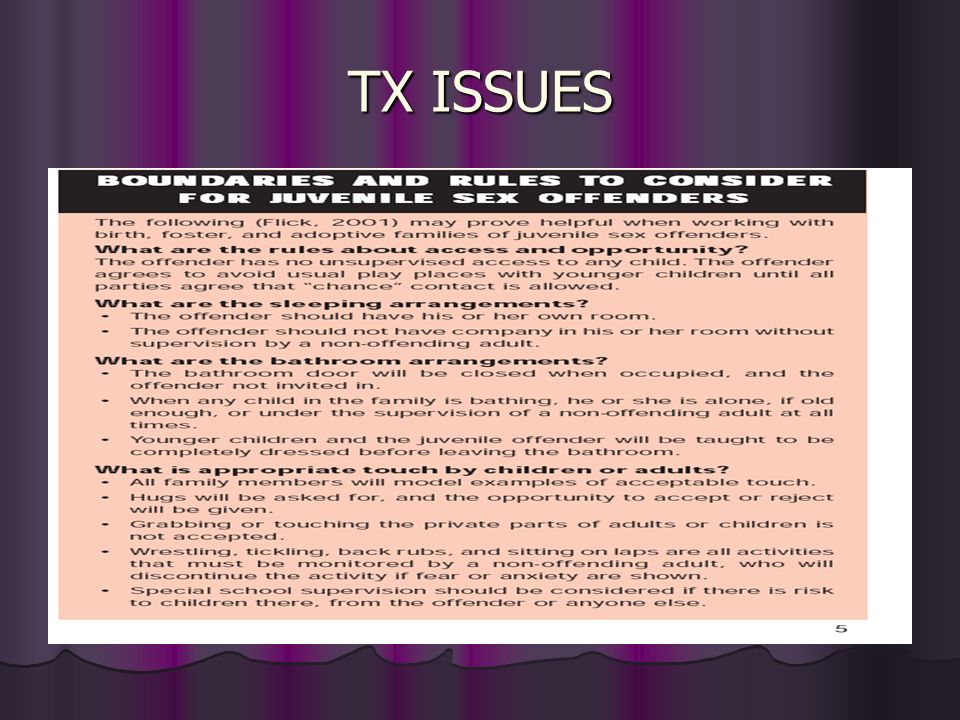 TX ISSUES