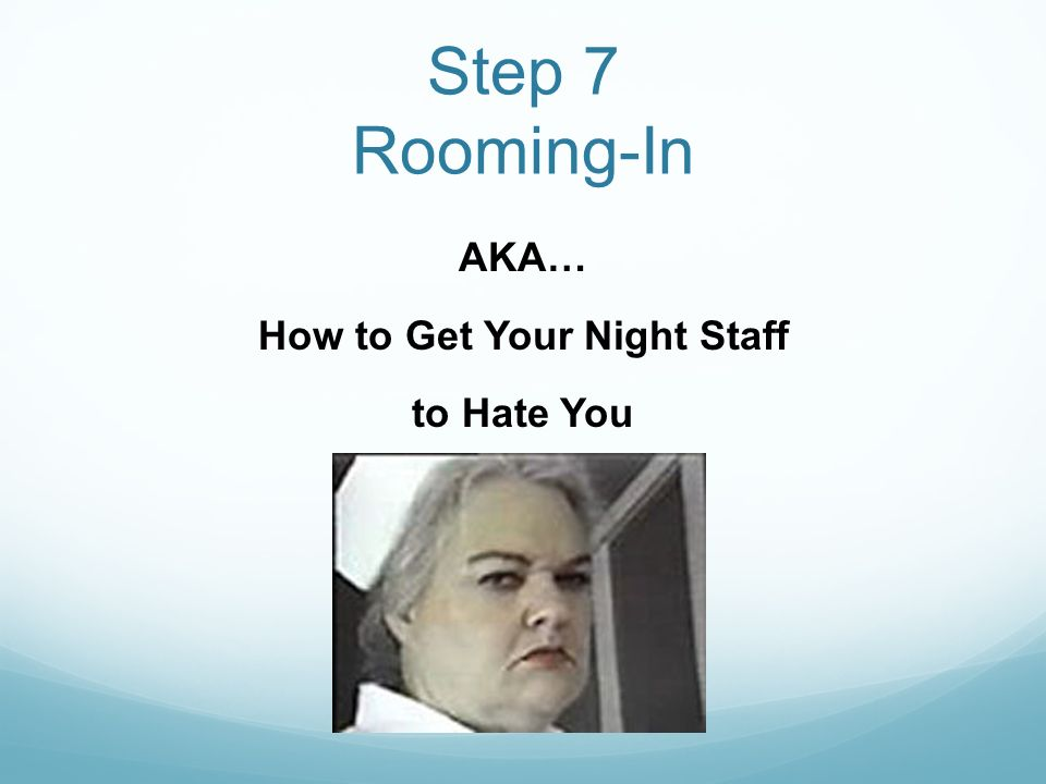 AKA… How to Get Your Night Staff to Hate You