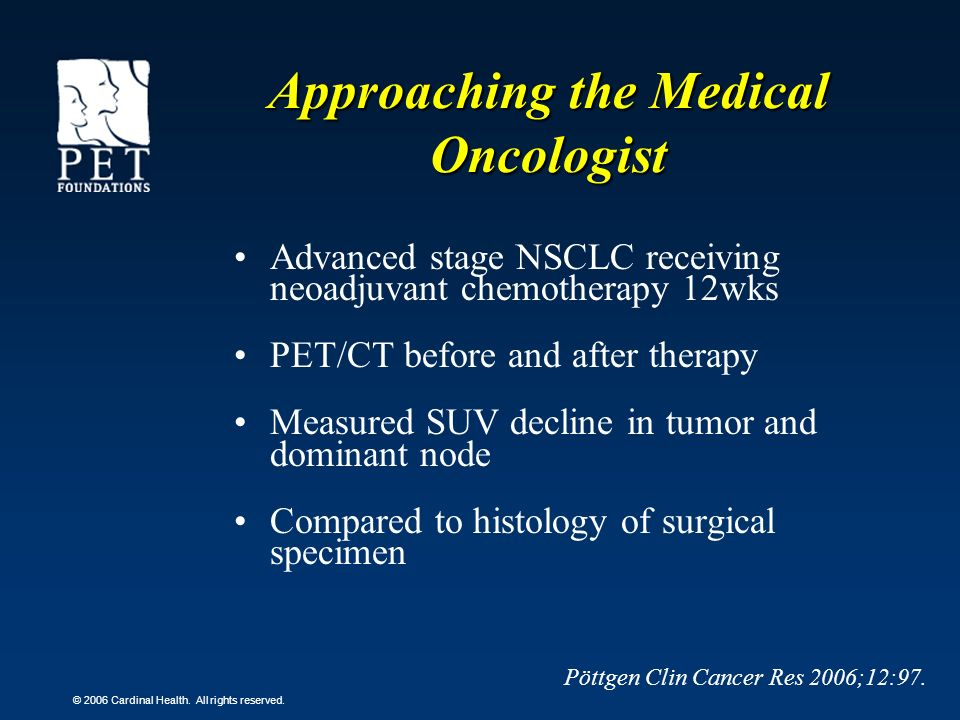 Approaching the Medical Oncologist